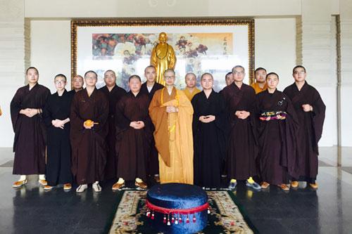 中国佛学院普陀山学院举行妙善长老冥寿百岁华诞上供法会