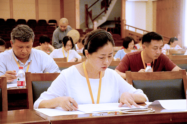 中国佛学院普陀山学院2017年第三期居士教育班招生工作圆满结束