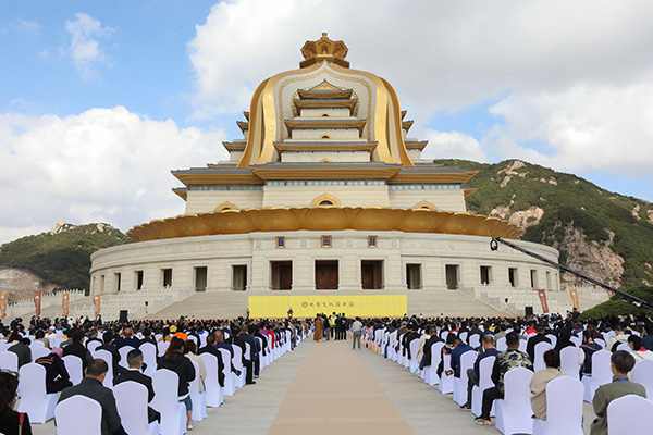 Opening of Guanyin Dharma Park in Mount Putuo