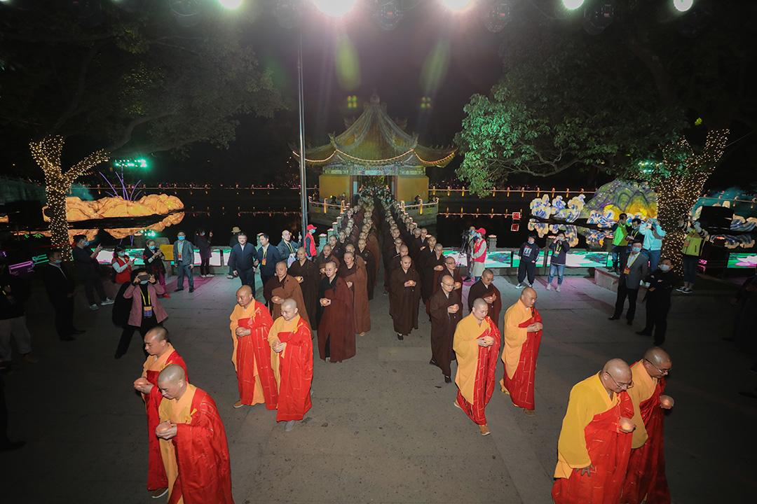 Nanhai Guanyin Cultural Festival in Mount Putuo China