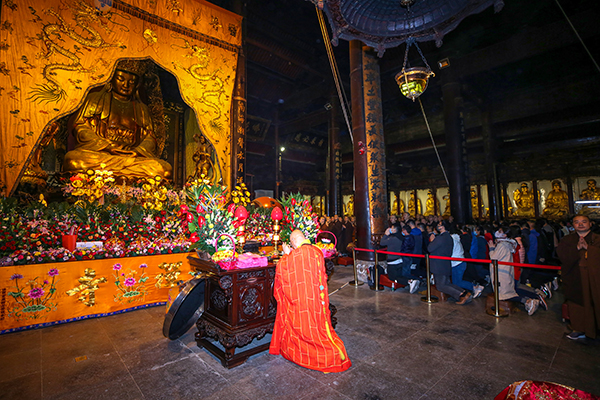 Three Incense Sessions in Mount Putuo