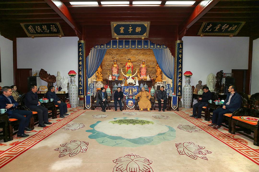 云南省大理州考察团一行到访普陀山考察交流