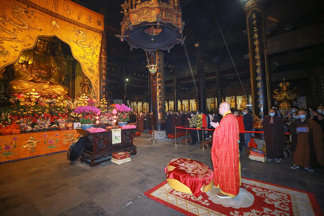普济禅寺辛丑年二月十九观音香会期进香活动安全有序