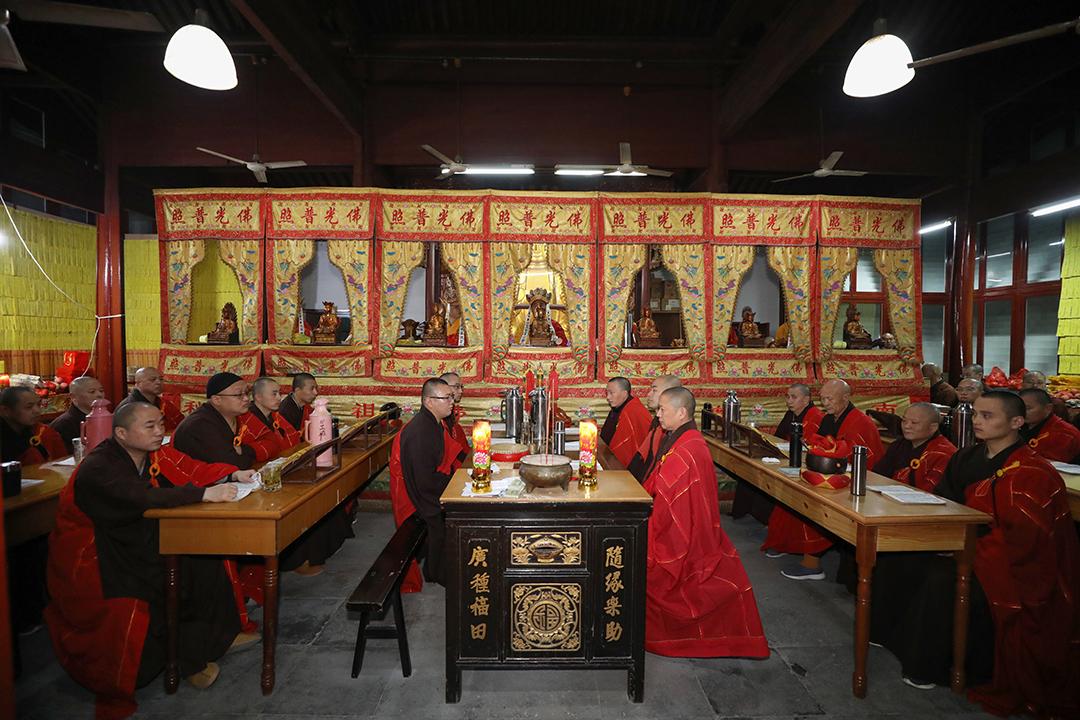 辛丑年清明普济禅寺举行追思超荐法会