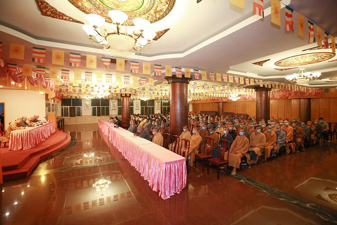 普陀山普济禅寺召开五一假期疫情防控和安全工作会议