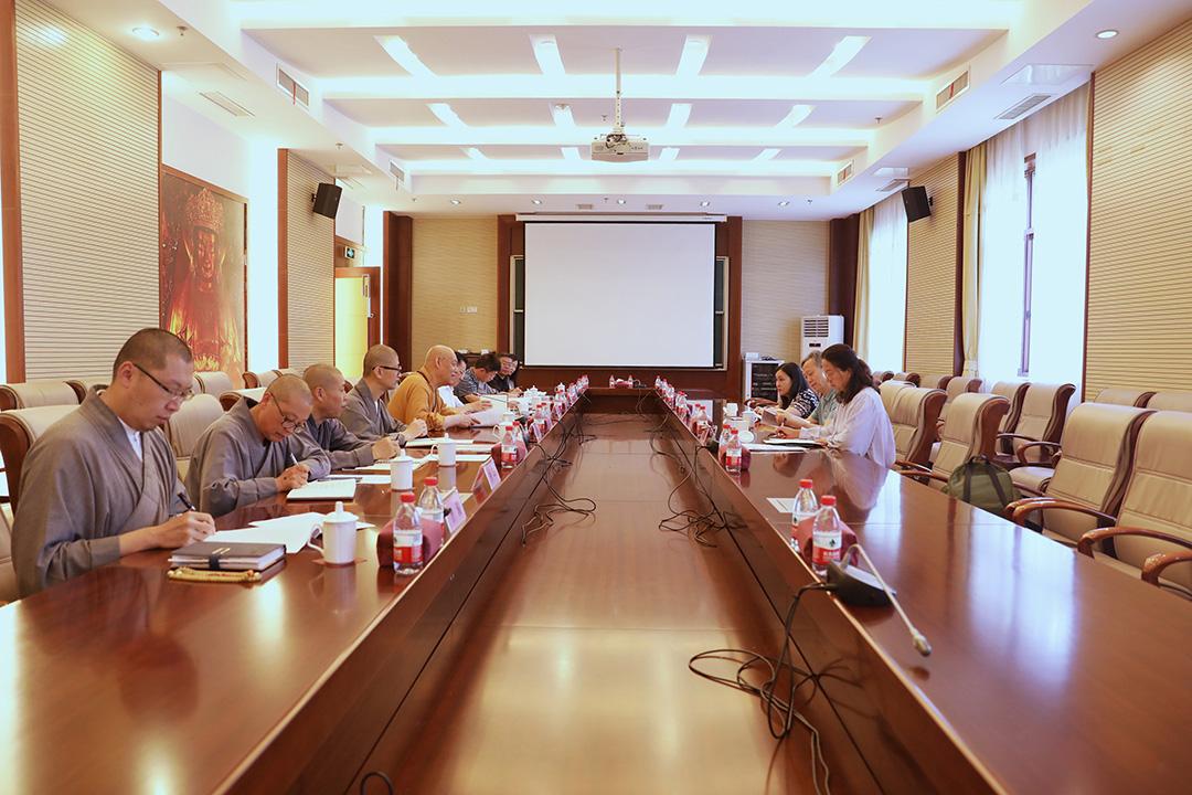 中央统战部十一局领导一行调研中国佛学院普陀山学院