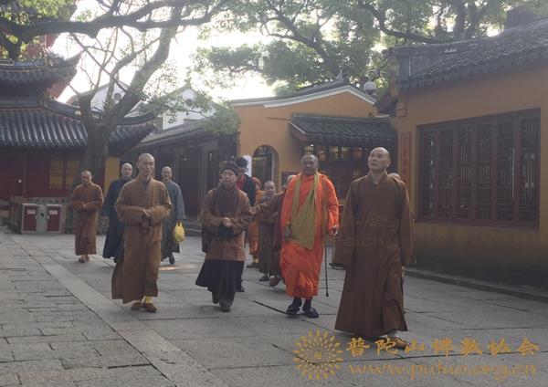 会长道慈大和尚会见越南佛教教会代表团一行