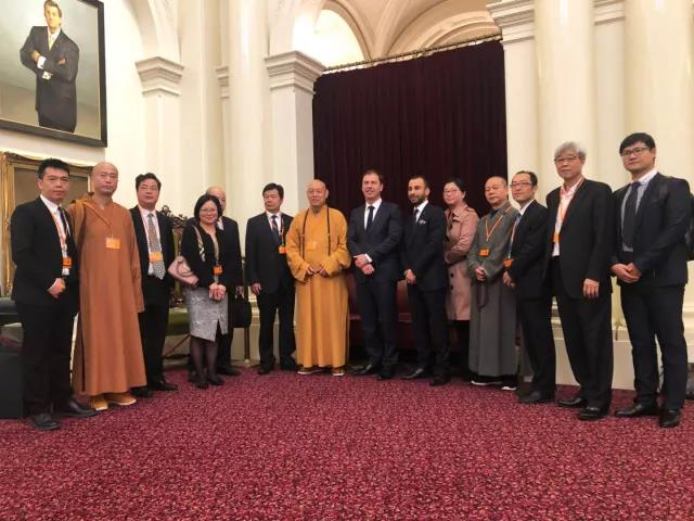 浙江省佛教协会代表团访问新加坡、澳大利亚墨尔本